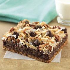 Ultimate Chocolate Magic Cookie Bars