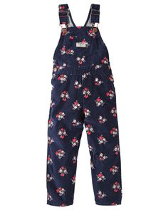 Baby Girl Floral Corduroy Overalls from OshKosh B'gosh. Shop clothing & accessories from a trusted name in kids, toddlers, and baby clothes.