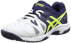 buy now £41.75 Asics Gel Game 5 GS Junior Tennis Shoes For young tennis  players 93035a888af3e