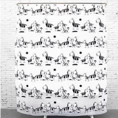 High - quality EVA material Yulian waterproof Mildew made Yulian home black and white zebra decorative bathroom products