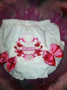 Heart of hearts Bloomer/diaper cover by Fancydancyboutique on Etsy, $10.50