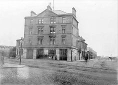 Springburn Fire Station Glasgow-1898