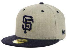 San Francisco Giants MLB Heather Mashup 59FIFTY Cap Hats