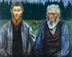 Edvard Munch - Generations, ca. 1904