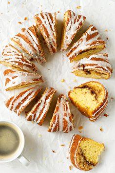 Honey Bun Cake | MyBakingAddiction.com