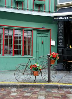 Near Shakespeare and Company bookshop. Love this blog http://french-word-a-day.typepad.com