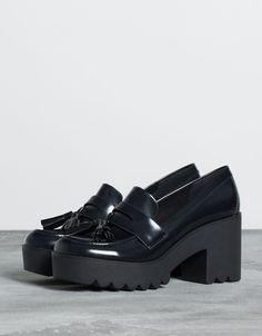 Bershka wedge moccasins - Shoes - Bershka Switzerland