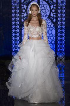 Fall 2017 Bridal Fashion Week Trends - Lacey Two Piece | Arizona Weddings Magazine