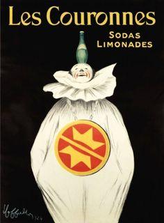 les couronnes sodas limonades leonetto cappiello
