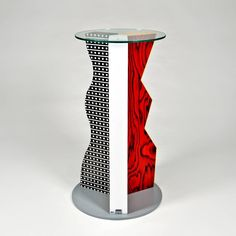 Ivory Pedestal by Ettore Sottsass for Memphis 3