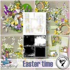 Easter time - Full pack by Black Lady Designs