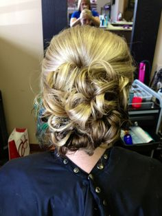 curly ponytail updo video tutorials cute hair style for medium long hair Easy Fancy Looking Curly Half Up Hairstyle | Long Hair Tutorial Video