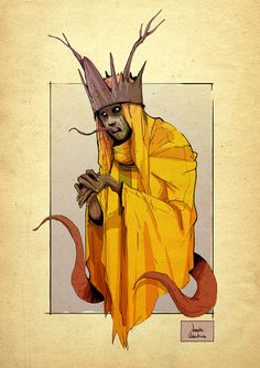 - The King in Yellow Tribute to the creation of Robert W. Chambers