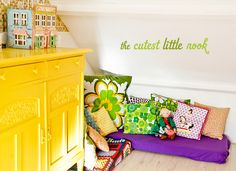 An adorable shared kids' room in the Netherlands. A room tour blogged.