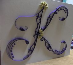wrought iron with letter k - Google Search