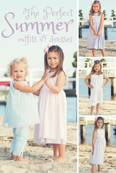 Perfect Summer dresses and outfits for little girls. Comfortable 100% cotton for all your summer outings and cute enough for the perfect family portraits! Heirloom quality made to last by Strasburg Children.