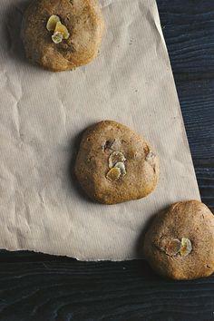 Triple Ginger + Tahini Cookies (vegan + gluten free) ⎮ happy hearted kitchen