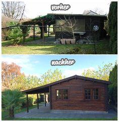 Ein Altes Gartenhaus Wieder Zu Neuem Glanz Verhelfen? ⛏ So Muss Das! ⚘ Wie  Muss Das? ✓ Hier Klicken Und Erfahren Wie Das Muss! ⚒ Magazin By Steda