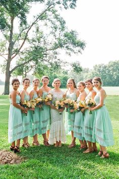 The Hottest Bridesmaid Dress Trends for Fall 2014 | Mine Forever