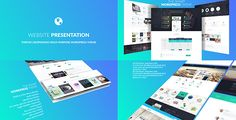 3D Website Presentation  • After Effects Template • See it in action ➝…