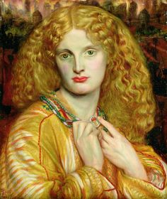 Helen of Troy, by Dante Gabriel Rossetti