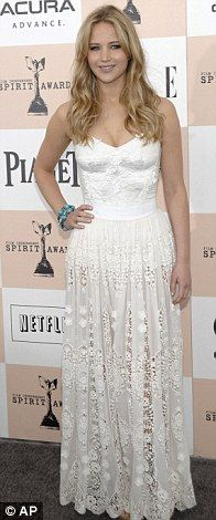 Jennifer Lawrence in Dolce & Gabbana at the 2011 Independent Film Awards, February 2011