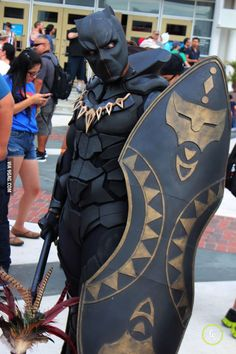 Imagem de black panther, cosplay, and Marvel Cosplay Anime, Marvel Cosplay, Superhero Cosplay, Epic Cosplay, Amazing Cosplay, Voltron Cosplay, Avatar Cosplay, Cosplay Pokemon, Best Cosplay Ever