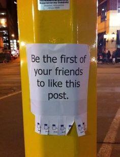 Real life emulating online life...