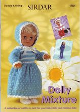 Other Pattern Books Leaflets from James C. Knitting Dolls Clothes, Baby Doll Clothes, Knitted Dolls, Knitted Bags, Doll Clothes Patterns, Doll Patterns, Barbie Clothes, Dolly Fashion, Fashion Dolls