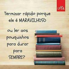Ler ou não ler , és a questão