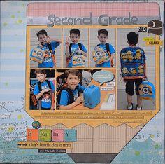 Second+Grade - Scrapbook.com