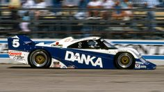 #IMSA GTP Chevy Intrepid with Wayne Taylor and co-driver at Sebring.