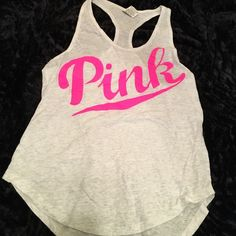 NWOT Victoria's Secret PINK Tank NWOT Victoria's Secret PINK Tank. Size small and in perfect condition. So cute for the summer!!! No trades PINK Victoria's Secret Tops Tank Tops