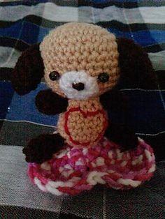 Crochet Bartje - Amigurumi pup by Alexandra Boonstra