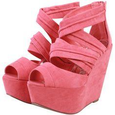 pink wedges!! love them!