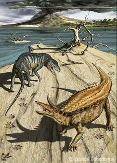 08-Desmatosuchus-and-Postosuchus.jpg (609×850)