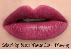 ColourPop Ultra Matte Lip - Mimmy Swatches & Review