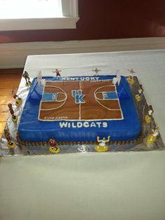 Kentucky Basketball cake