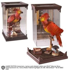 Harry Potter Diorama Magical Creatures Fawkes Noble Collection