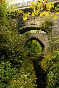 Devil's Bridge, Ceredigion, Wales.  Visit www.exploreuktravel.co.uk for holidays in Wales