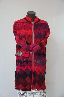 Ravelry: Tanyarzh's Irregular entrelac Yarn Needle, Knitting Needles, Ravelry, Wool, Pattern, Art, Fashion, Art Background, Moda