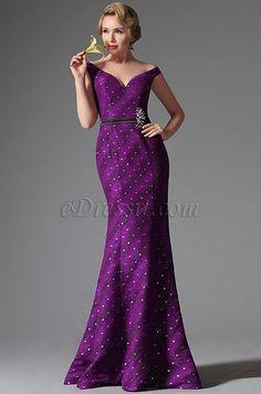eDressit 2014 New Off Shoulder Dark Magenta Evening Dress Prom Ball Gown (02146012)