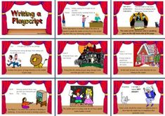 Literacy Resource - Features of a Playscript Display Posters English Teaching Resources, Reading Resources, Teaching Reading, Narrative Writing, Persuasive Writing, Class Activities, Classroom Activities, Formal Letter Writing, Literacy Display