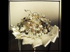 Bouquet con bottoni vintage