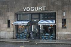 Yoghurtladen, Friedrichstraße, Berlin-Mitte
