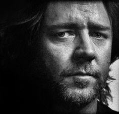 Russell Crowe:  intensity, even while having fun, I'd think....