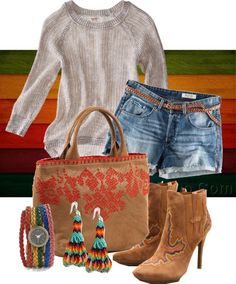"""""""Western Rainbow"""" by gangdise on Polyvore"""