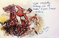 Great vintage foxhunting illustration...