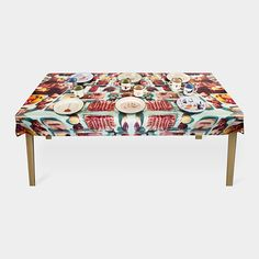 If I lived alone I would totally buy this, but my husband and kids would never eat off it...   - Maurizio Cattelan and Pierpaolo Ferrari: Insects Tablecloth