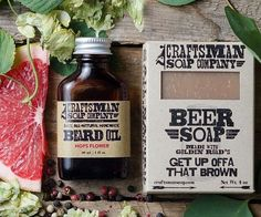 Natural Beard Care Kit // Beer Soap & Hops Flower Beard Oil // Handmade, Vegan, Palm Free // Gifts for Men Glitter Paint For Walls, Glitter Vinyl, Glitter Beards, Glitter Iphone 6 Case, Flower Beard, Glitter Slides, Glitter Flats, Beard Soap, Groomsmen Gifts Unique